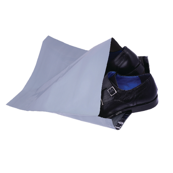 Polythene Mailing Bag Opaque Grey 335x430mm (Pack of 500) HF20222
