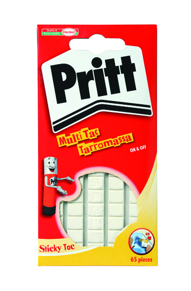 Pritt Sticky Tac White 35g Pack of 12 1563151