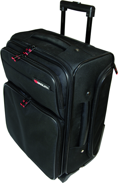 Monolith Black Wheeled Overnight Laptop Case 1329