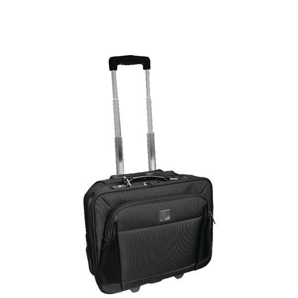 Monolith Motion Wheeled Black Laptop Case 3005