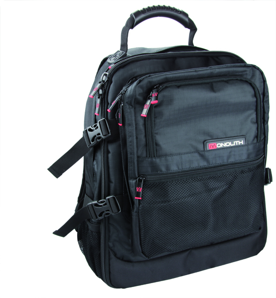 Monolith Black Laptop Backpack 9106