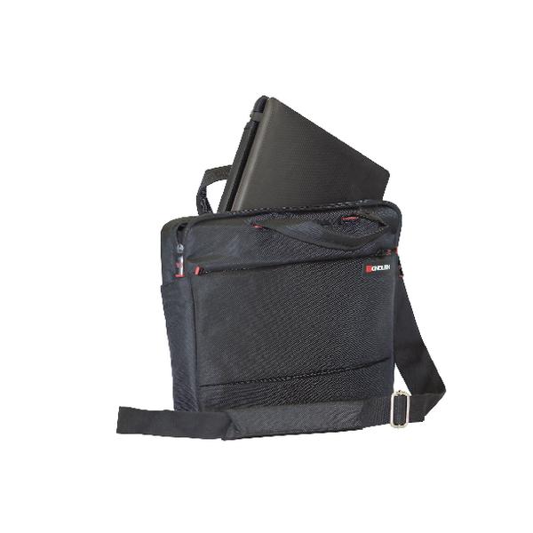 Monolith Motion II Slimline Laptop Case Black W410 x D70 x H310mm 3201