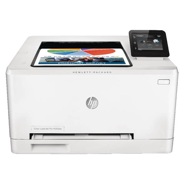 HP Color Laserjet Pro M252dw Printer White B4A22A