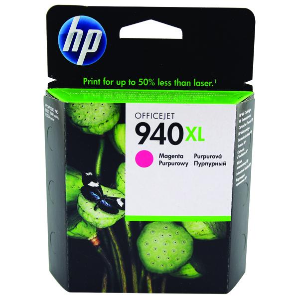 HP 940XL Magenta High Yield Inkjet Cartridge C4908AE