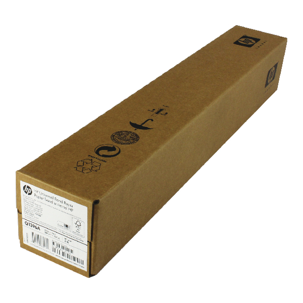 Hewlett Packard Coated Paper 610mm x45 Metres Roll 98gsm C6019B