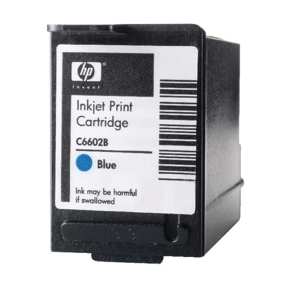 HP 1.0 Blue EPOS Inkjet Print Cartridge C6602B