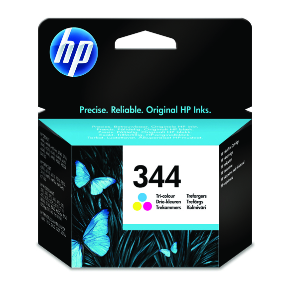 HP 344 Cyan/Magenta/Yellow Inkjet Cartridge C9363EE