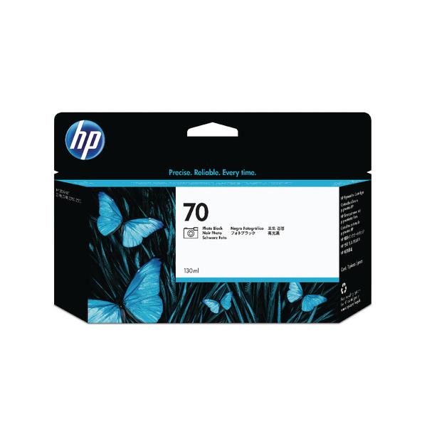 HP 70 Photo Black Inkjet Cartridge C9449A