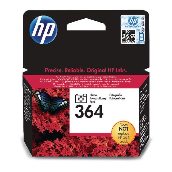 HP 364 Photo Black Inkjet Cartridge CB317EE