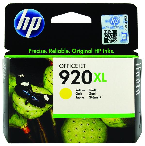 HP 920XL Yellow High Yield Ink Cartridge CD974AE
