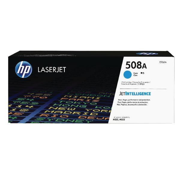 HP 508A Cyan LaserJet Toner Cartridge CF361A