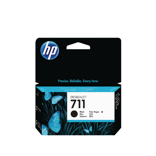 HP 711 Black Inkjet Cartridge CZ129A
