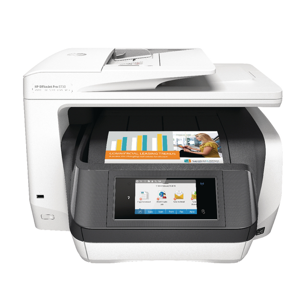 HP Officejet Pro 8730 AIO Printer