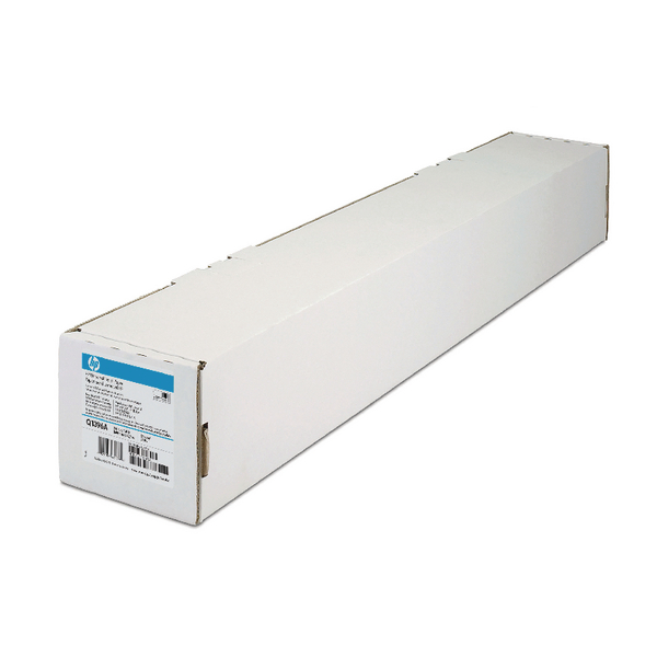 HP White Universal Bond Paper 610mm Continuous Roll 80gsm (Pack of 1) Q1396A