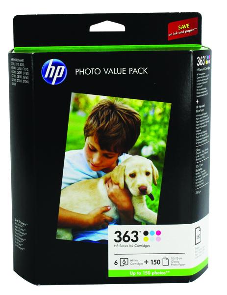 HP Photo Black , Yellow, cyan, Light cyan, magenta, Light magenta Cartridge and Paper Q7966EE
