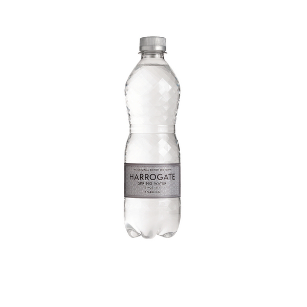 Harrogate Sparkling Spring Water 500ml Plastic Bottle (Pack of 24) G750121S