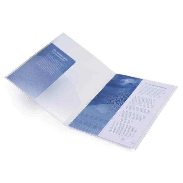 Rapesco A4 Twin ID File Clear (5 Pack) 787