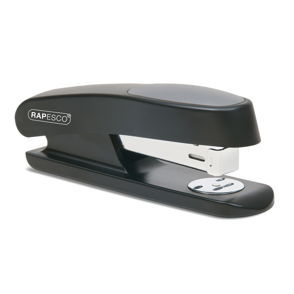 Rapesco Sting Ray Stapler Half Strip Black R72660B3