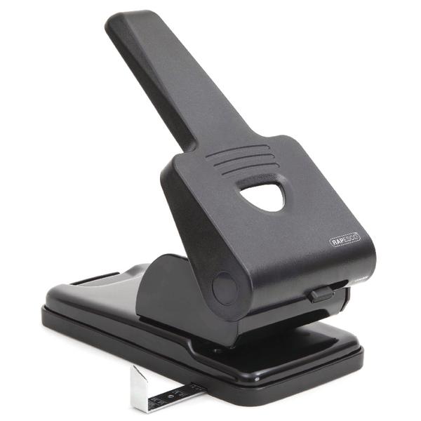 Rapesco Black 865-P Heavy Duty 2-Hole Perforator PF865PB2