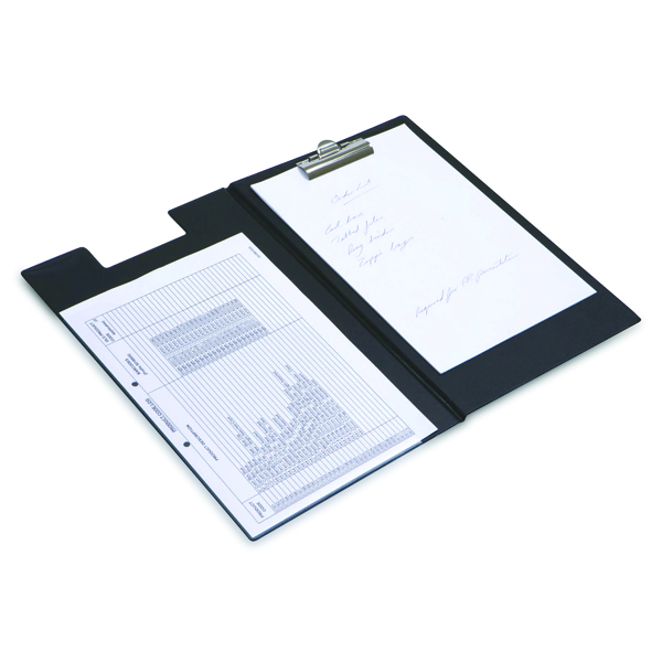 Image for Rapesco Executive Clipboard Foolscap Black CD1L00B2