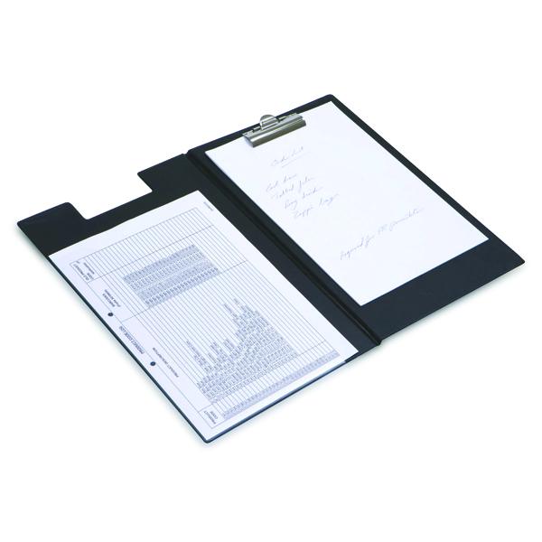 Rapesco Executive Clipboard Foolscap Black CD1L00B2