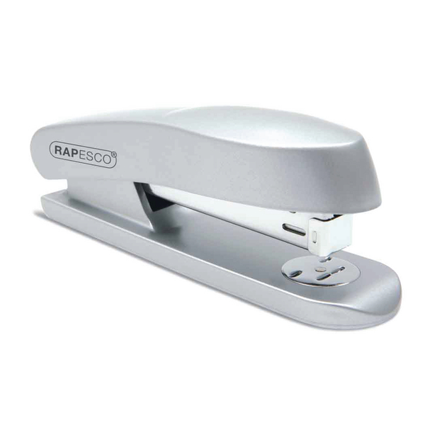 Rapesco Skippa Executive Stapler Full Strip Silver RES260C1