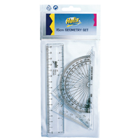 Helix Clear Geometry Set 15cm (Pack of 15)