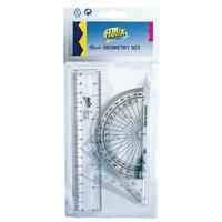 Helix Clear Geometry Set 15cm (15 Pack) Q68048