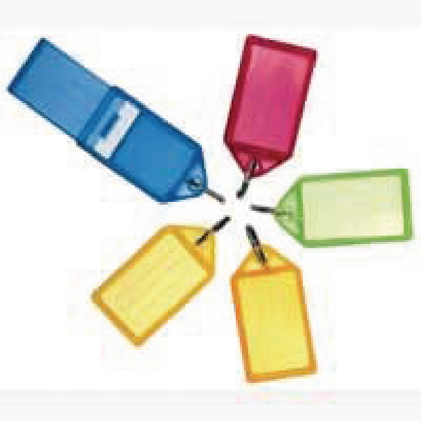 Helix Assorted Large Sliding Key Fobs (50 Pack) F35020