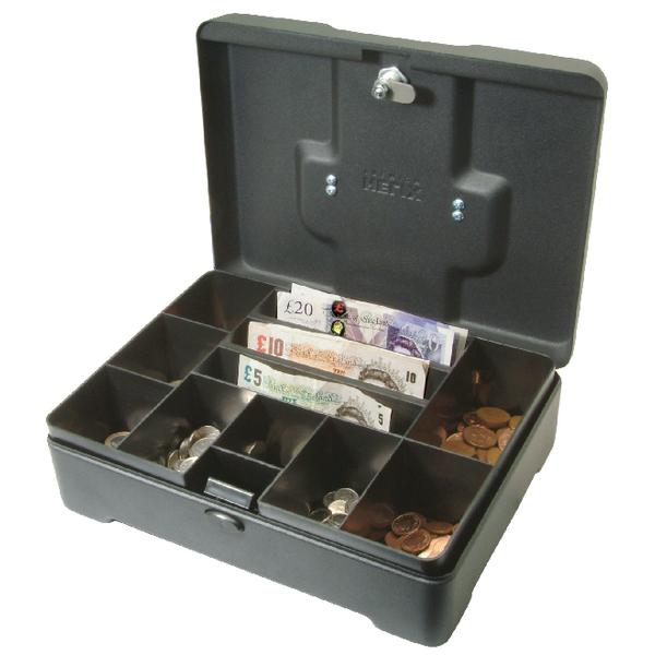 Helix High Capacity Cash Box Anthracite CM8020