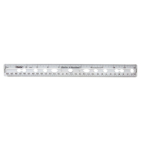 Helix Clear Ring Binder Ruler L25025