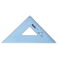 Helix Set Square 21cm 45 Degree Clear (Pack of 25) L58040