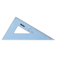 Helix Set Square 18cm 60 Degree Clear (Pack of 25) L78040