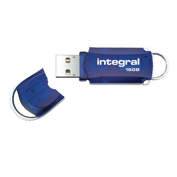 Integral Courier 16GB Flash Drive USB 2.0 INFD16GBCOU