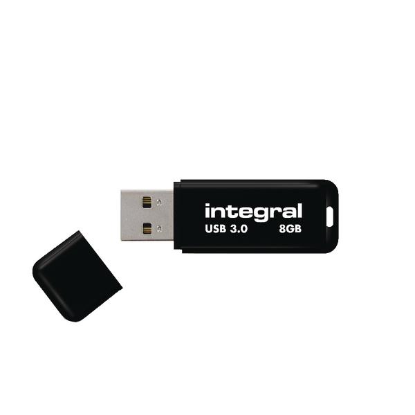 Integral USB Noir 8GB INFD8GBNOIR3.0