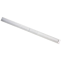 Jakar Acrylic Ruler with Stainless Steel Edge 600mm (Pack of 1) 3064