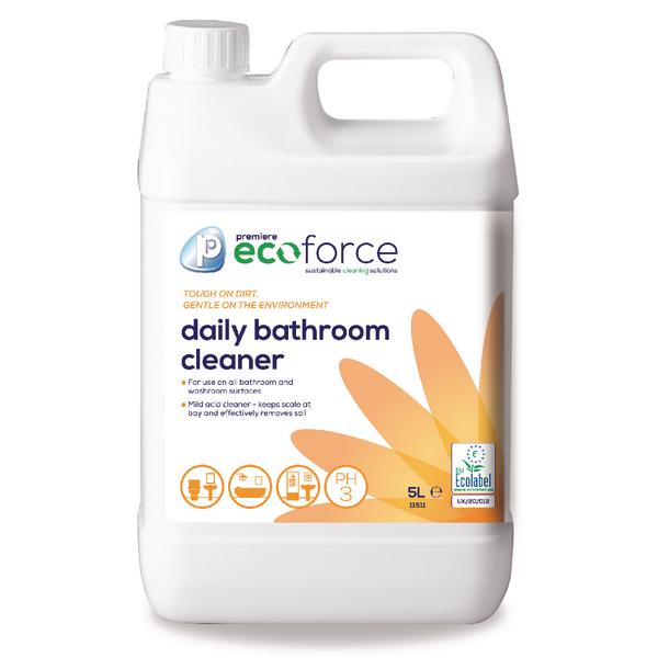 Ecoforce Washroom Cleaner 5 Litre (Pack of 2) 11511
