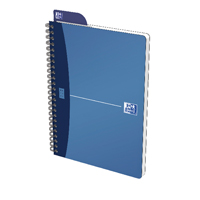 Oxford Metallic Notebooks A5 Blue