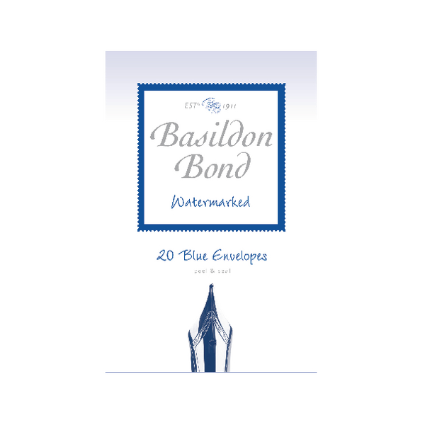 Basildon Bond Blue Envelope 95 x 143mm Pack of 200 100080064