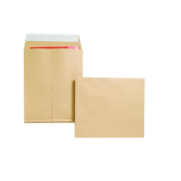 Image for New Guardian Gusset Envelope Peel and Seal 305x250x25mm 130gsm Manilla (Pack of 100) B27166