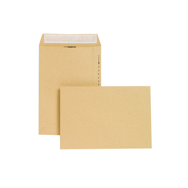 Image for New Guardian Envelope 254x178mm 130gsm Peel and Seal Easy Open Manilla (Pack of 250) C26803