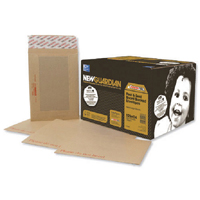 Image for New Guardian Board Back Envelope 318 x 267mm 130gsm Manilla Peel and Seal (125 Pack) H27126