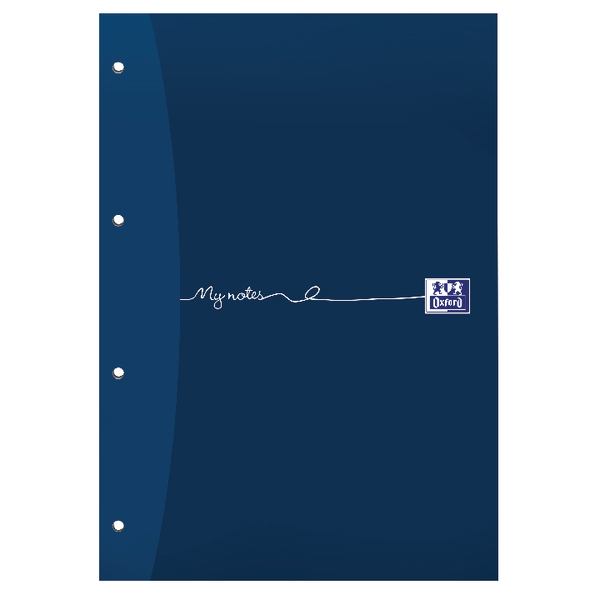 Oxford My Notes A4 Refill Pad Ruled Margin 160 Pages Headbound Pack of 5 846400177