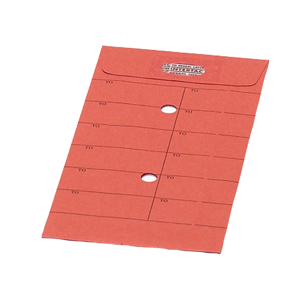 New Guardian Internal Mail C5 Envelopes 85gsm ReSealable Orange (Pack of 500) L26311