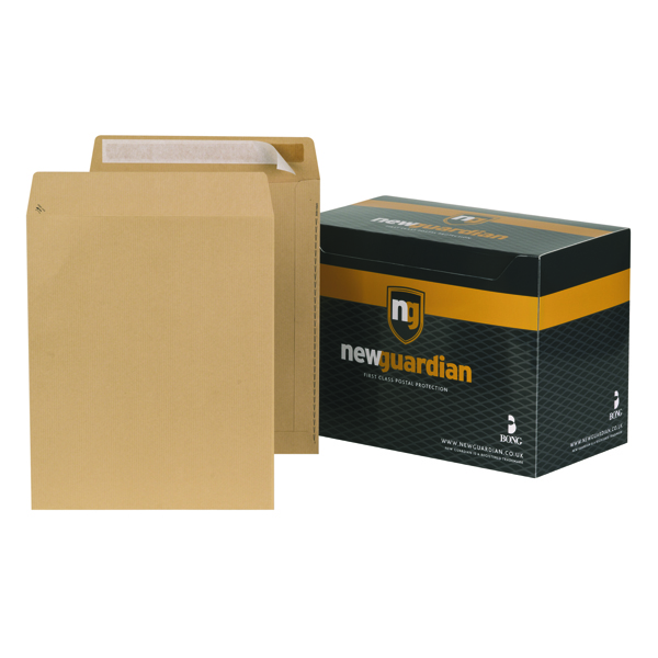 Image for New Guardian 305x250mm 130gsm Manilla Peel and Seal Envelope (Pack of 250) L27103