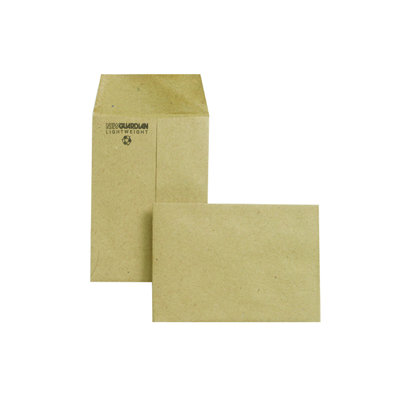 New Guardian Envelope 98 x 67mm 80gsm Manilla Gummed (2000 Pack) M24011