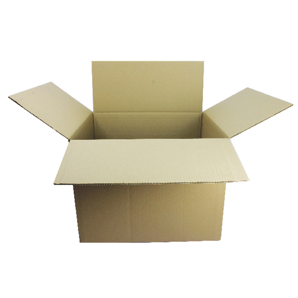 Double Wall Corrugated 457 x 457 x 457mm Brown Cardboard Boxes (15 Pack) SC-63