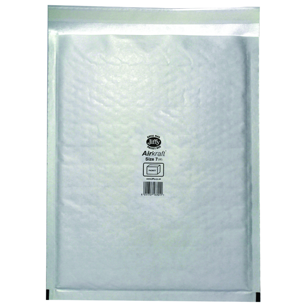 Jiffy AirKraft Bag 340x445mm White (Pack of 50) JL-7