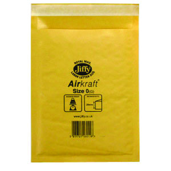 Image for Jiffy Size 0 Airkraft Bag P10 MMUL04602