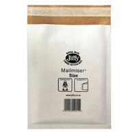 Jiffy Mailmiser Size 3 220x320mm White (Pack of 10) 2222